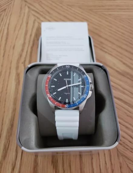 Relógio Unissex Fóssil Pulseira De Borracha Importado E.u.a.