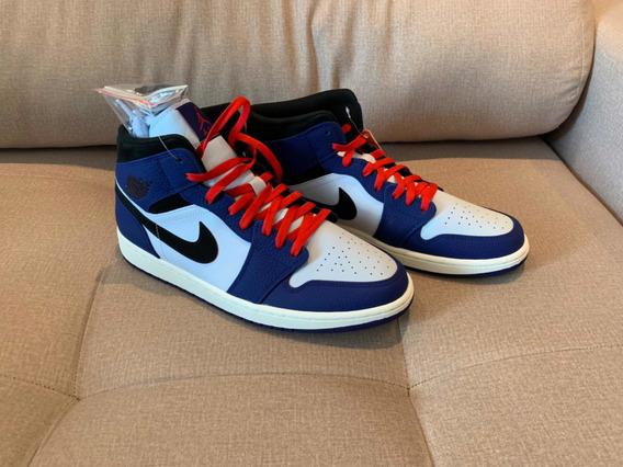 Air Jordan 1 Mid Se Deep Royal Blue