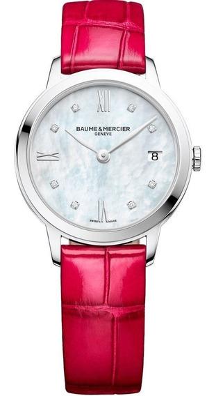 Reloj Baume & Mercier Classima 10325 Original Con Diamentes