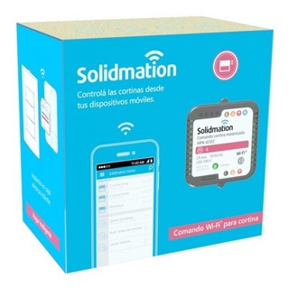 Solidmation Módulo De Cortinas Por Wifi