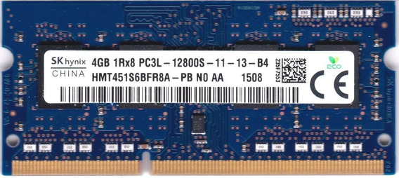 Memoria Ram Ddr3 Sodimm 4gb 1x4gb Sk Hynix Hmt451s6bfr8a-pb