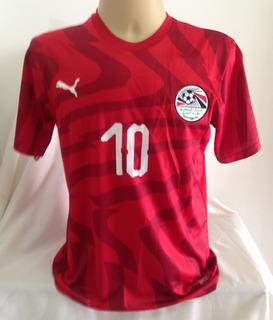 Camisa Egito #10 M.salah - Tamanho M