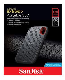 Hd Ssd Externo Sandisk Portable Extreme 250gb Lacrado
