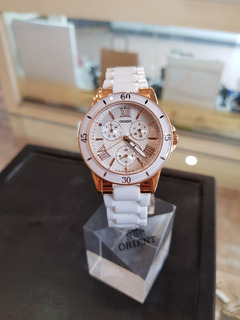 Reloj Orient Cerámica Multi-funcion Sumergible Ror0329