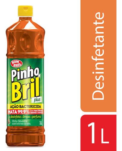Imagem 1 de 1 de Desinfetante Pinho Bril Silvestre Plus 1l