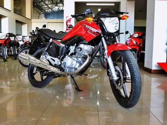 Honda Cg Titan 150 Ym20 2020 Ahora 18 Cuotas Tarjeta Credito
