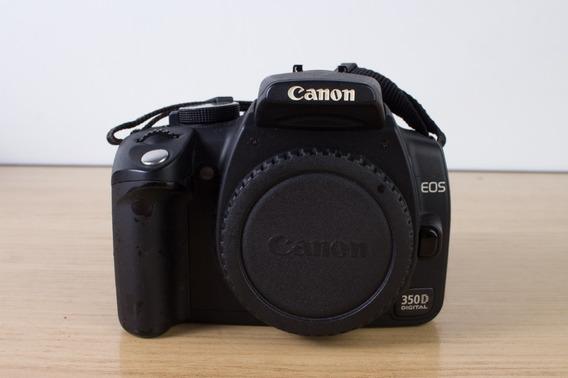 Canon Dslr 350d + Lente Canon 28-80mm