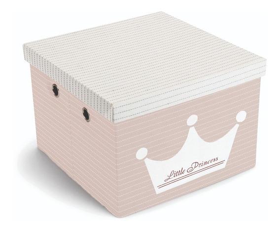 Caixa Organizadora Mek Desmontável Infantil Princesa