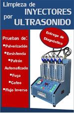 Limpieza De Inyectores Por Ultrasonido - Scanner Automotriz