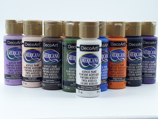 Pintura Acrílica Americana Decoart 59ml 52 Color Disponible.