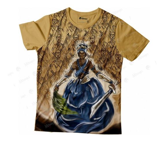Camiseta Full Ogum Cod 008 - Orixás - Umbanda/candomblé
