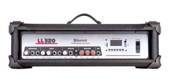 Amplificador Cabeçote Ll 320bt Usb Bluetooth Fm 75w Rms