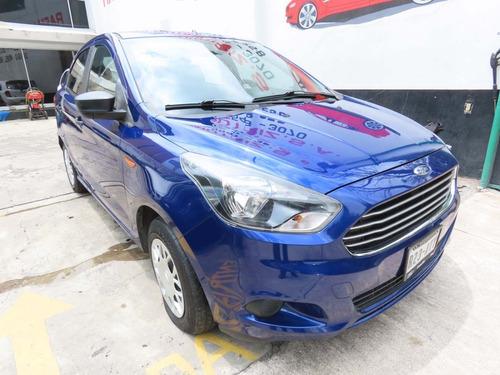 Imagen 1 de 9 de Ford Figo Impulse Tm 2018 Azul