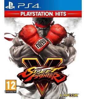 Street Fighter V Playstation Hits Ps4 Mídia Física Novo