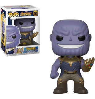 Funko Pop Avengers Thanos Ironman Hulk Marvel Originales