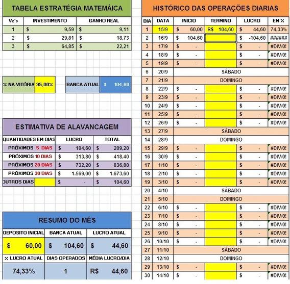15 Planilhas Opções Binárias Iq Option + 4 Cursos De Brinde