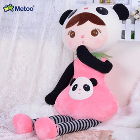 Boneca Metoo Panda 45cm Original Grande