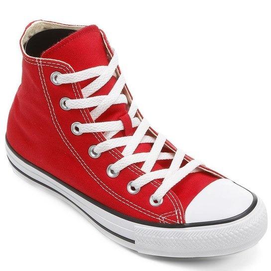 Tênis Converse All Star Cano Alto Vermelho Ct00040004
