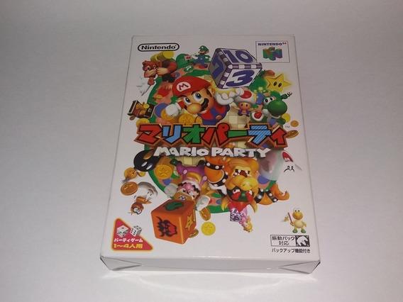 Jogo Mario Party 100% Original Nintendo 64 Completo Cib N64