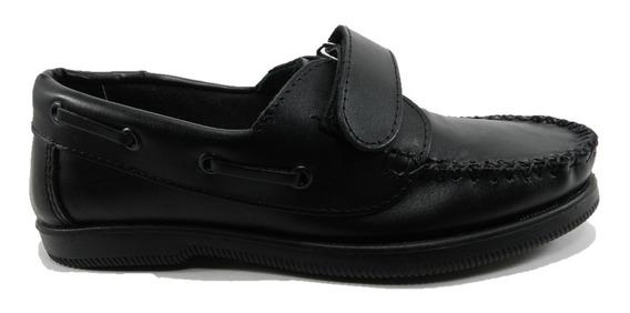 Zapato Morris Escolar Cuero 6927