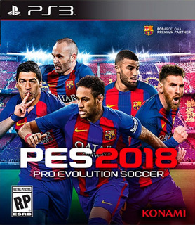 Pro Evolution Soccer 2018 Pes 2018 - Playstation 3 | Vgm