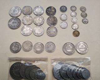 Monedas De Colección 8 Resellos 32 Regulares Antiguas