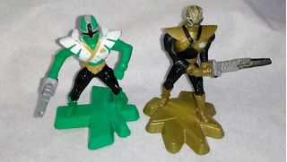 Muñeco Power Rangers Mac Donalds Lote X2 Super Samurai