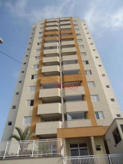 Apartamento Com 2 Dormitórios À Venda, 74 M² Por R$ 360.000,00 - Jardim Santo Antônio - Santo André/sp - Ap1274