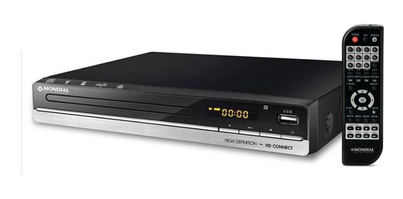 Dvd Hd Connect D18 - Unica