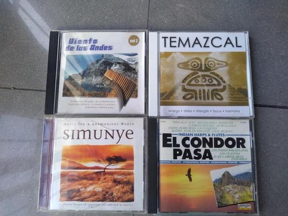 Lote 4 Cds El Condor Pasa Simunye Viento De Los Andes Etc