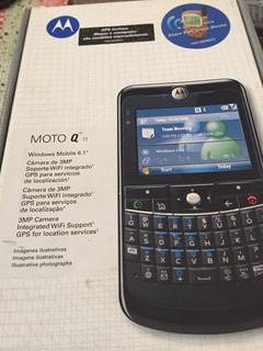 Celular Motorola Q11 Windows Mobile Wifi Gps 3mp Mp3