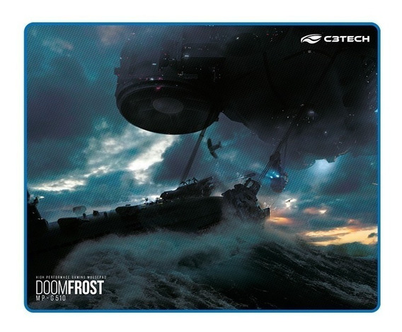 Mouse Pad Gamer C3tech Doomfrost - Mp-g510