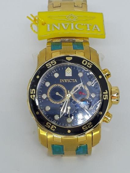 Relógio Invicta 0072 Pro Diver - Fundo Preto - Original