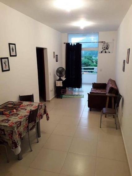 Apartamento Com 2 Dormitórios Para Alugar, 70 M² Por R$ 1.600,00/mês - Estufa I - Ubatuba/sp - Ap4455