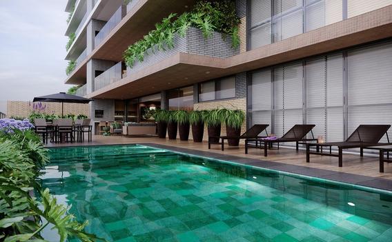 Apartamento Garden De 03 Suítes No Juvevê!!