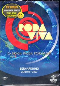 Dvd Roda Viva Bernardinho Vôlei Tv Cultura Novo Lacrado Raro
