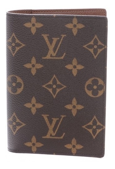 Porta Passaporte Luxo Couro Legitimo Canvas Louis Vuitton Lv