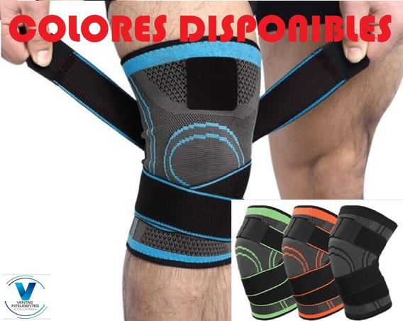 Rodillera Ortopédica Deportiva Compresión Ajustable Unisex