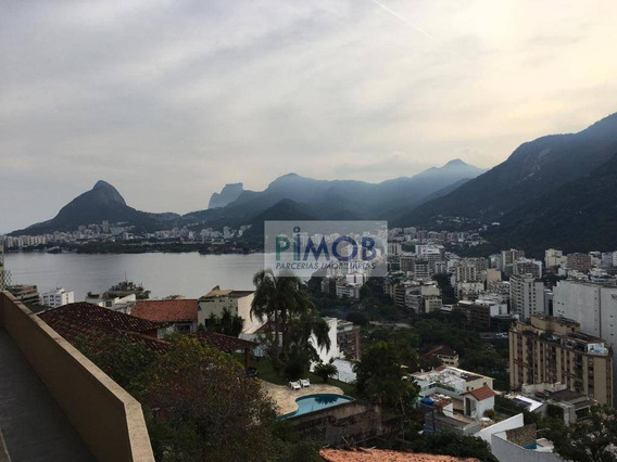 Apartamento Triplex Com 4 Quartos, Sendo 2 Suítes À Venda, 280 M² Por R$ 2.250.000 - Humaitá - Rio De Janeiro/rj - At0004