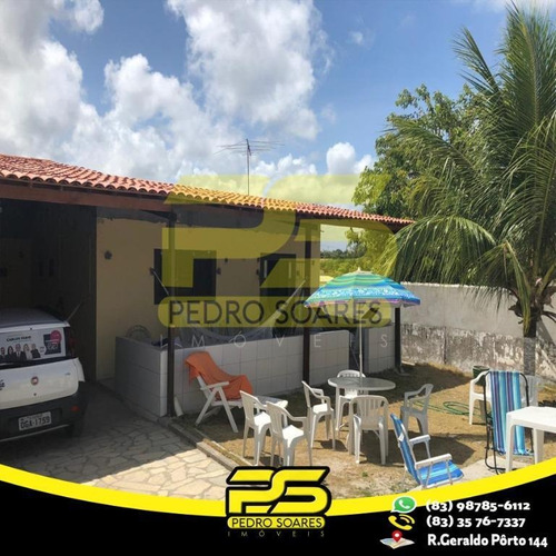Casa Com 2 Dormitórios À Venda Por R$ 140.000,00 - Barra De Gramame - Conde/pb - Ca0471