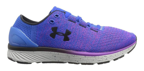 Zapatillas Under Armour Charged Bandit 3 Azul/vio De Mujer