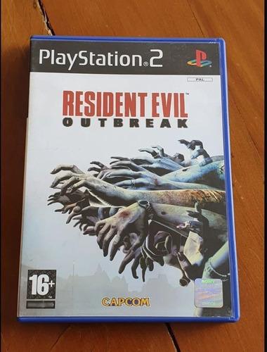 Imagem 1 de 4 de Resident Evil Outbreak Ps2 Original Europeu