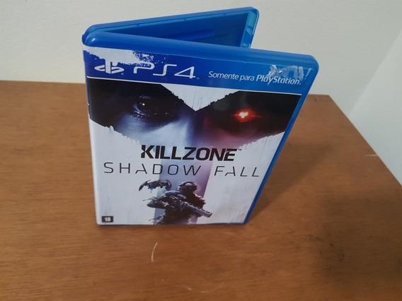 Killzone Shadow Fall Usado Original Ps4 Mídia Física