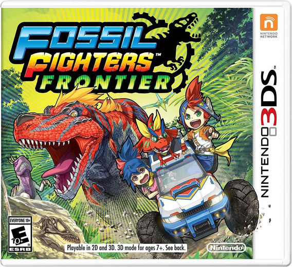 Videojuego Fosil Fighters Frontier Nintendo 3ds Gamer