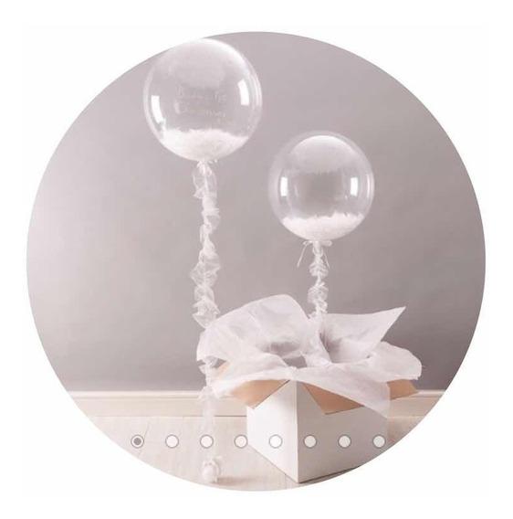 Globo Burbuja Transparente 18 Pulgadas