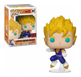 Funko Pop! Dbz - Ssj Vegito 491 Aaa Exclusive Original