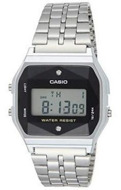 Relógio Casio Vintage Diamond Prata