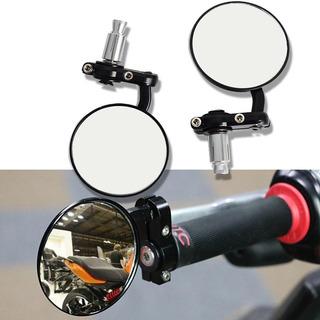 Espejos Cafe Bober Sportbike Redondos Agarre Aluminio Bober