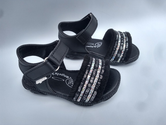 Sandalias De Nena Para Vestir Bautismo Fiesta Dia Noche