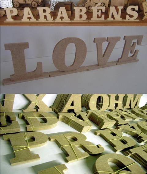 Kit 3 Alfabetos De 15cm Altura, Sai A R$ 4,50 Cada Letra